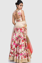 Vibha red and pink floral lehenga set