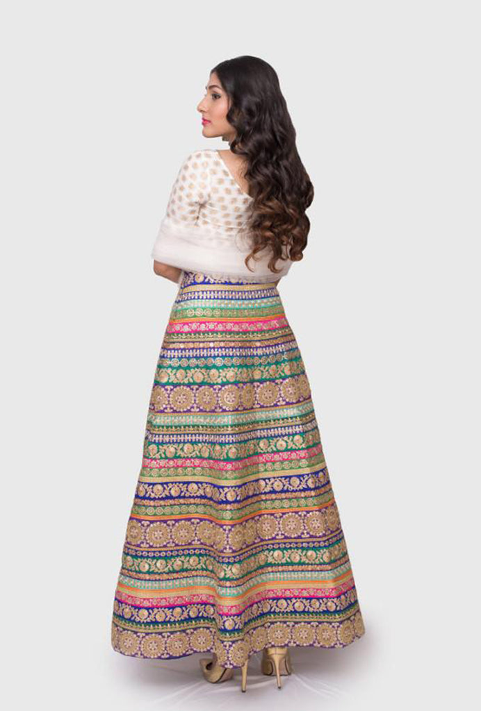Aashi multi-color lehenga set