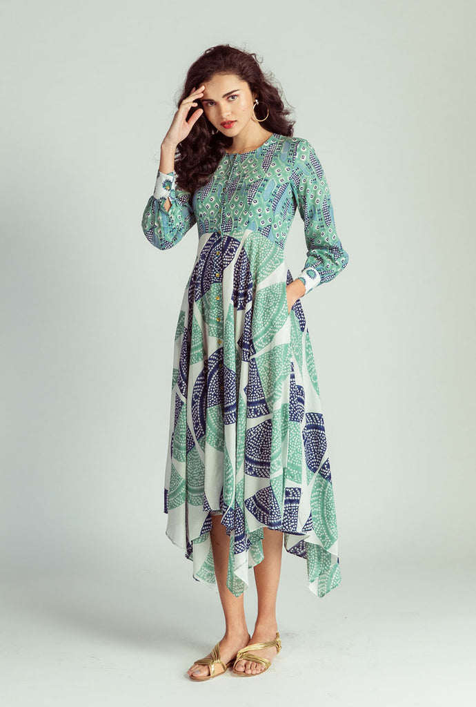 Sarama handkerchief hem dress