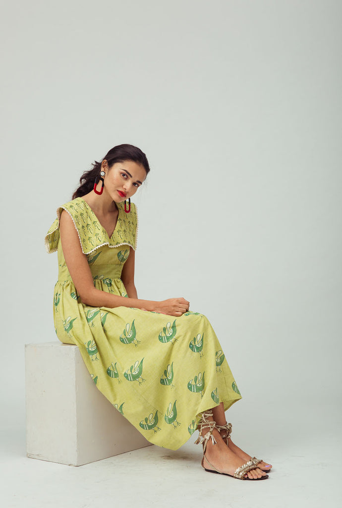 Sudeepa yellow sailor dress