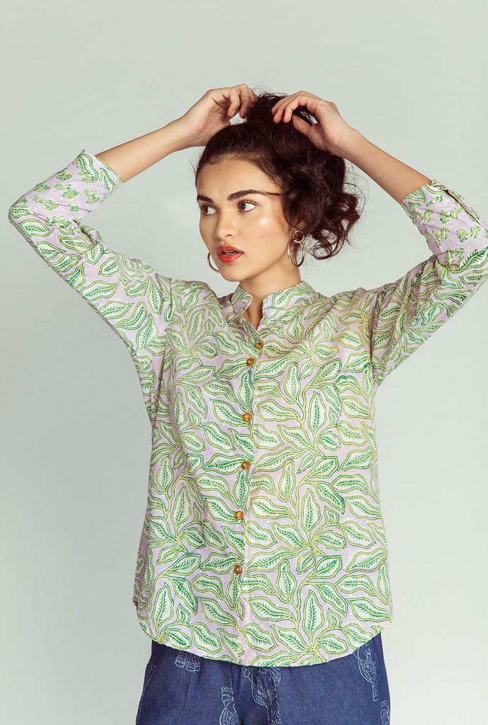 Gautami patterned top