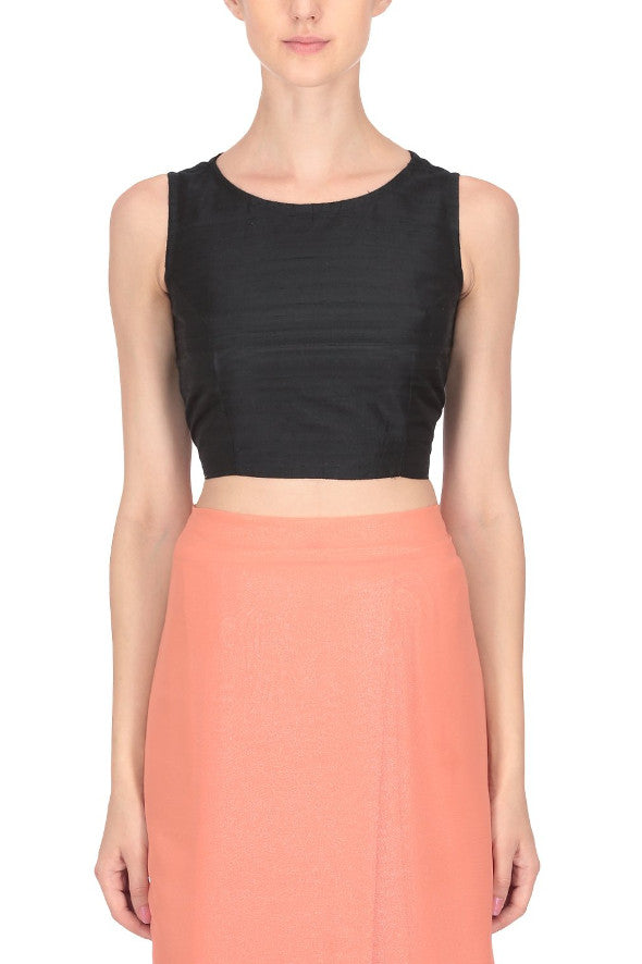 Sushila Crop Top with Back Detail