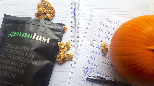 Roasted pumpkin-granola