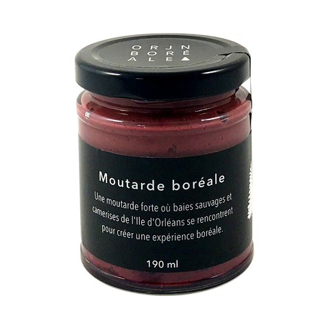 Boreal Mustard with Berries