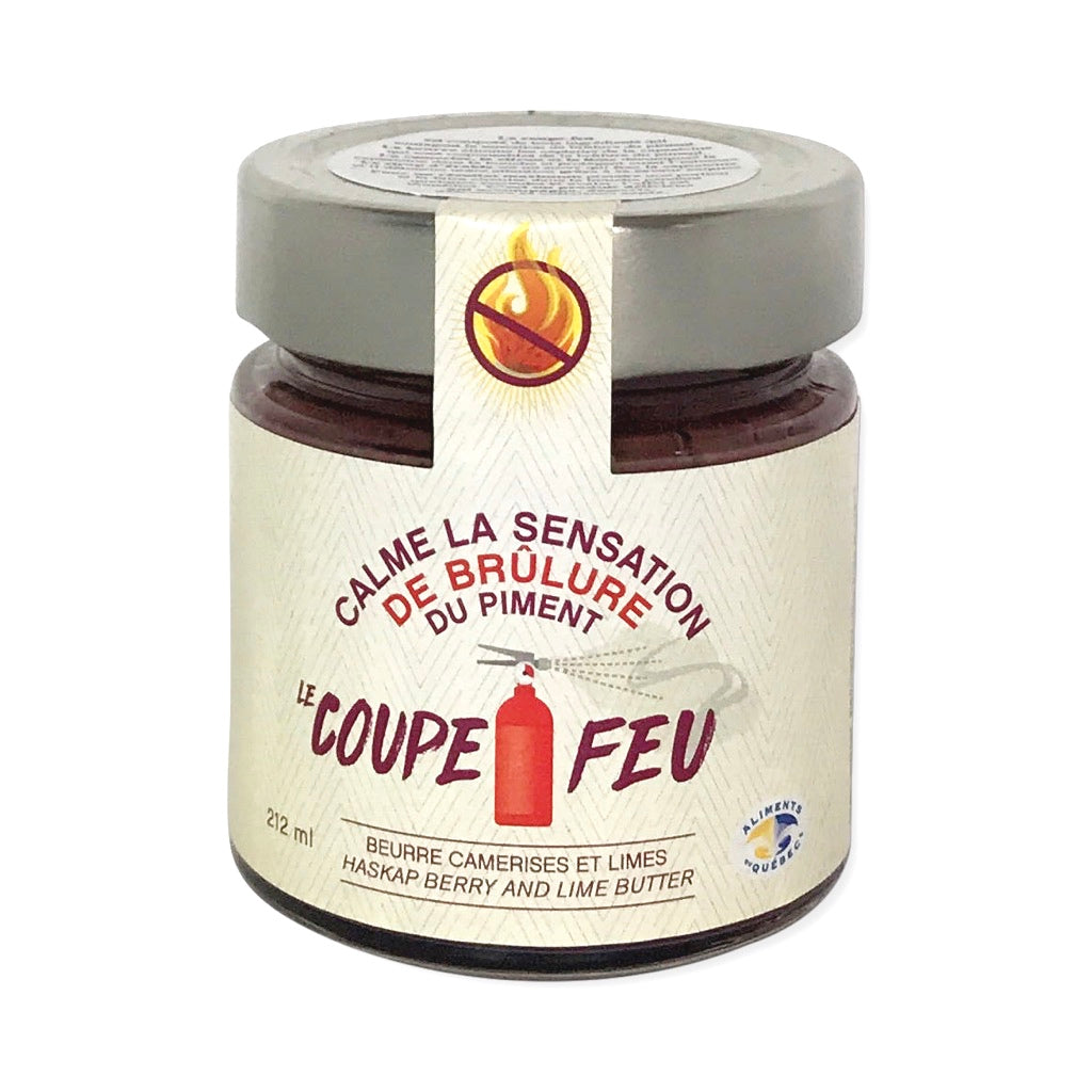 Coupe Feu – Haskap Berry and Lime Butter