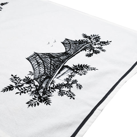Montreal Toile de Ville Tea Towels