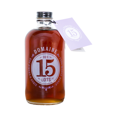 Dark maple syrup Domaine des 15 lots