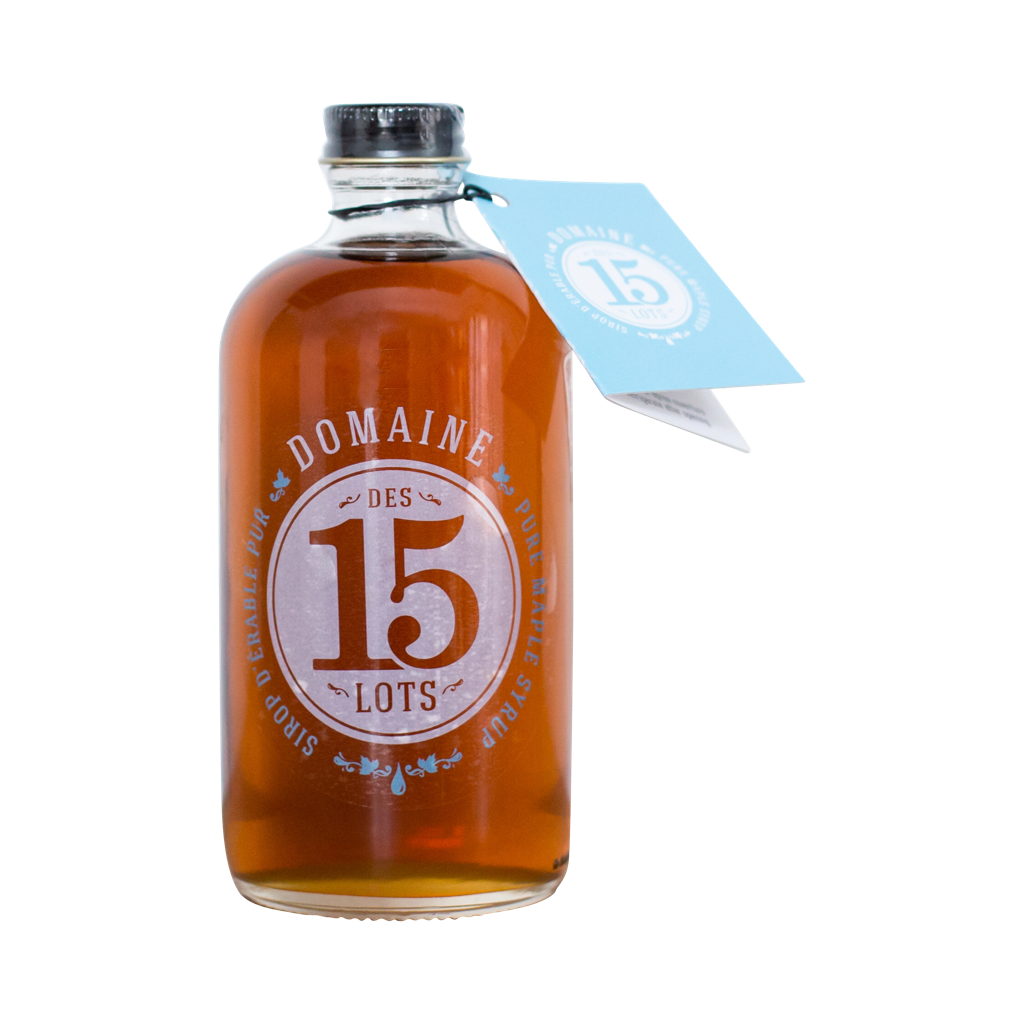 golden maple syrup domaine des 15 lots