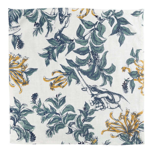Set of 4 Snip Floral Napkins