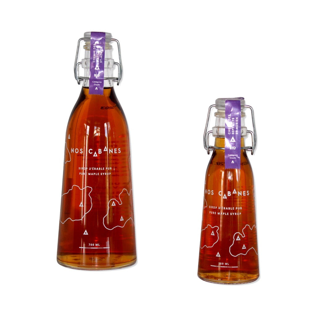 Chemin des Sept Lots - St-Adrien Organic Maple Syrup Nos Cabanes