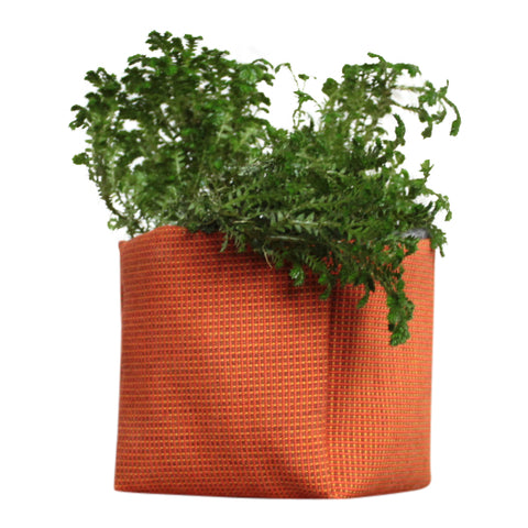 Lara Orange Geotextile Planter