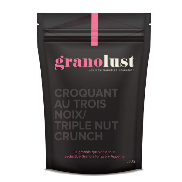 Triple Nut Crunch Granola
