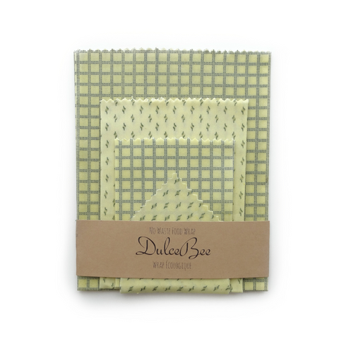Zero Waste Reusable Beeswax Food Wraps