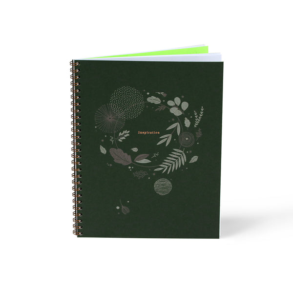 Floral Inspiration Notebook