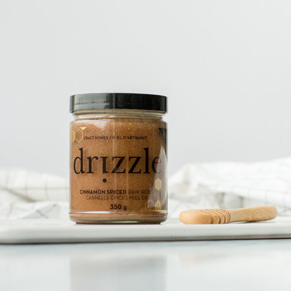 Cinnamon Spiced Raw Honey - drizzle