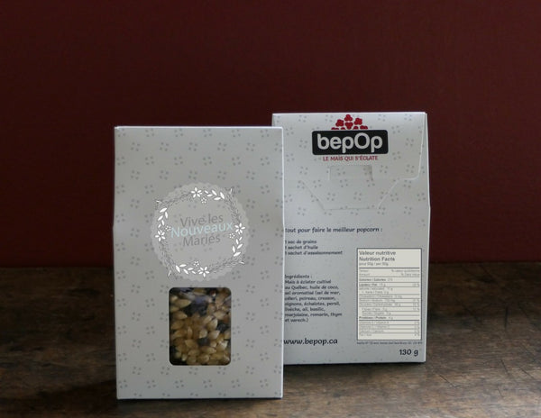 customizable popcorn gift box bepop