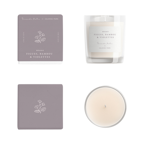 Fig, Bamboo & Violet Soy Candle