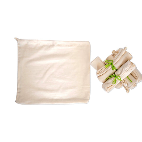 Organic Cotton Bag for Plant-based Milk-passion santé