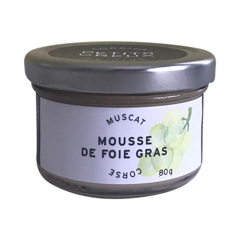Foie Gras Mousse with Muscat
