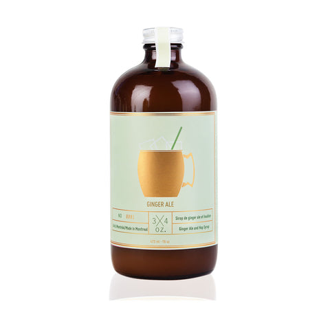 Natural Ginger Ale Syrup-3/4 oz.
