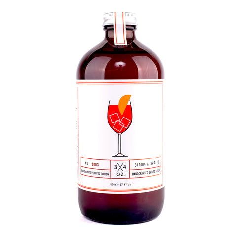 natural spritz syrup-3/4oz.