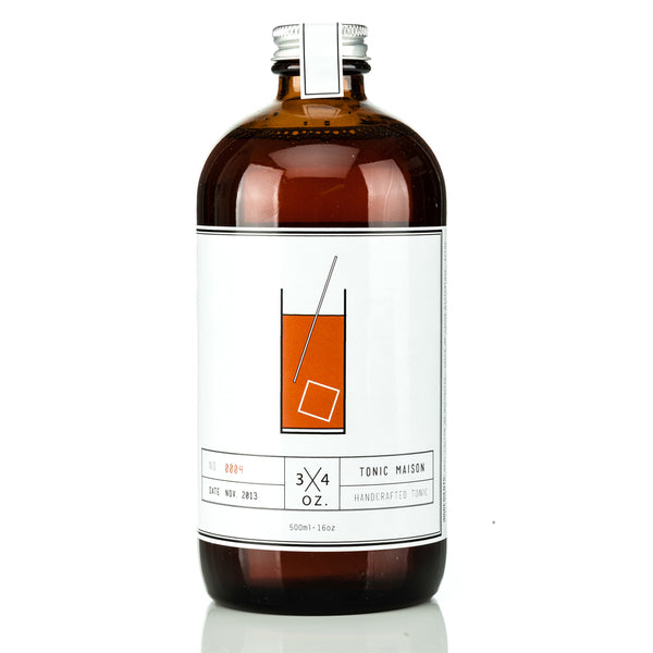 Natural Tonic Syrup-3/4 oz.