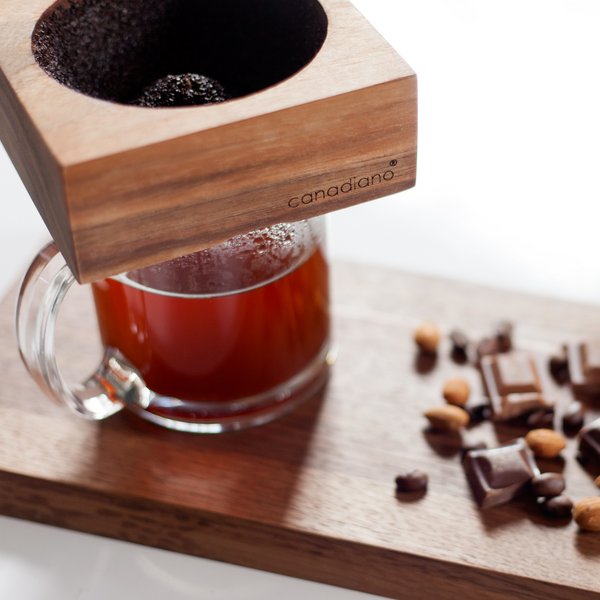 Wooden Pour Over Coffee Maker-Canadiano