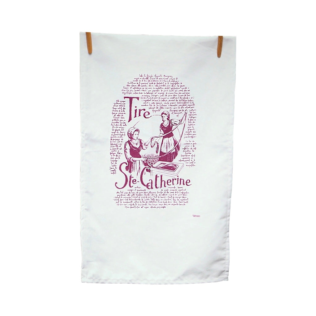 Quelle Histoire Cotton Dish Linen The St.Catherine's Taffy