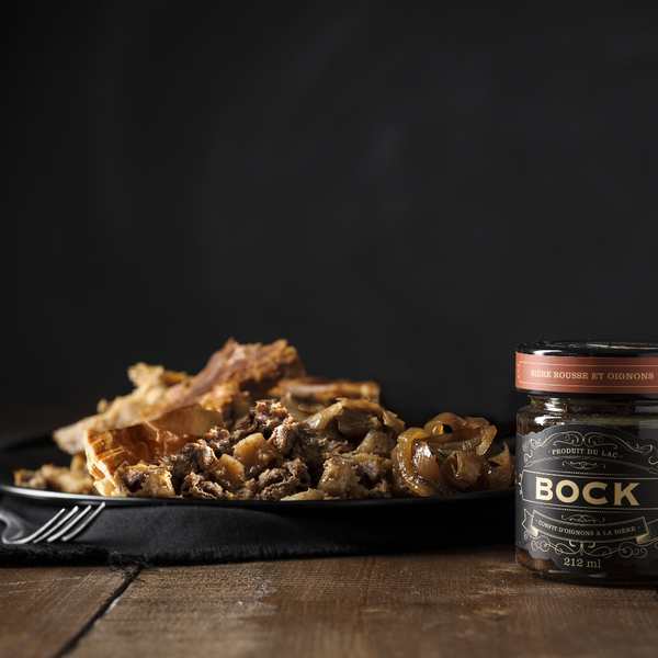 bock-beer onion confit