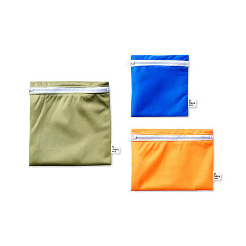 Reusable Food Bags – Pack of 3 - la fabrik éco