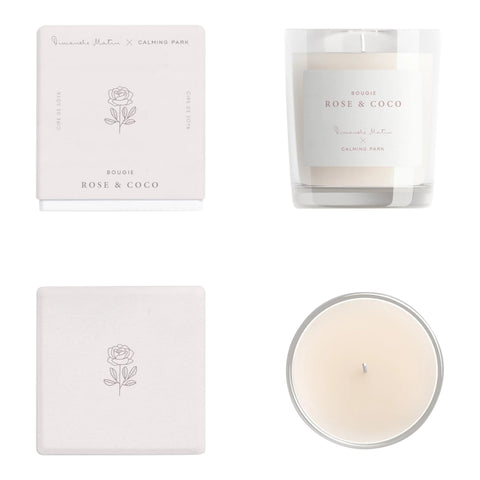 Rose & Coco Soy Candle