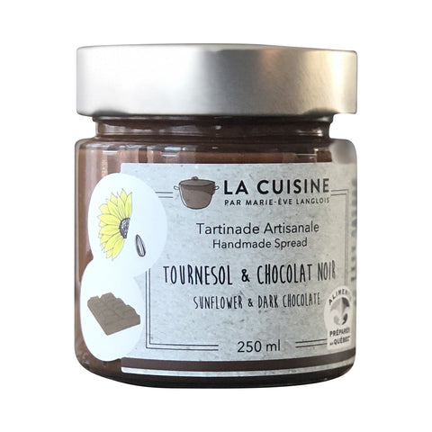 Sunflower Praline & Dark Chocolate Spread