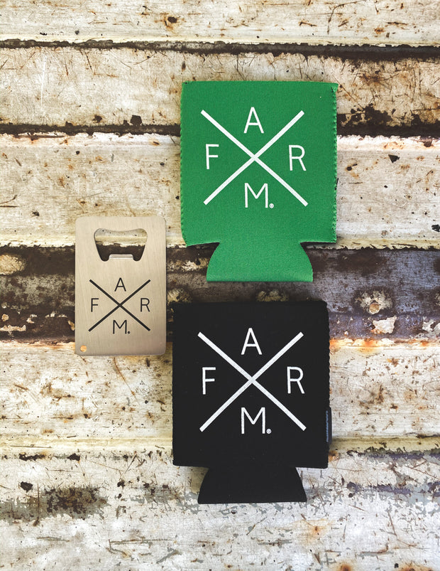 FARM® Koozie & Bottle Opener