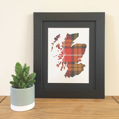 custom-scotland-map-tartan-art