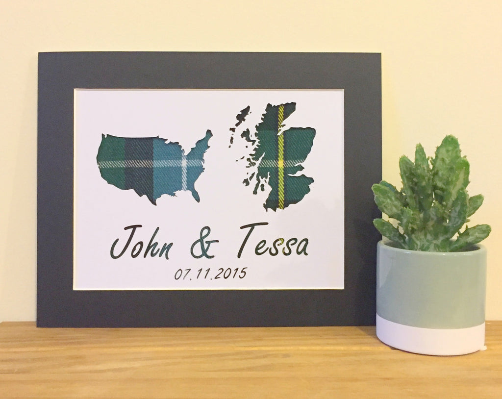Custom Wedding 8x10 Duo Country