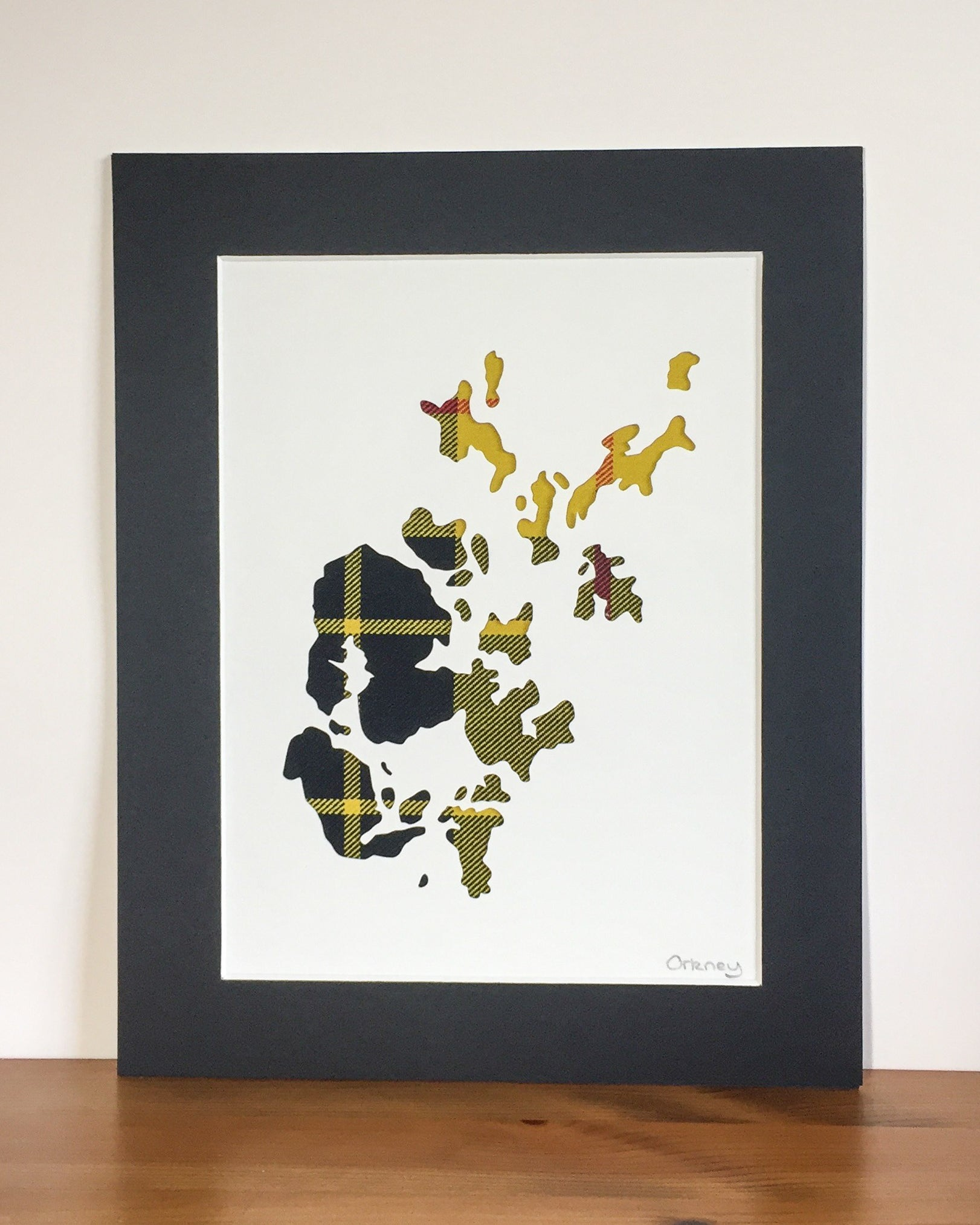 Orkney Isles Map