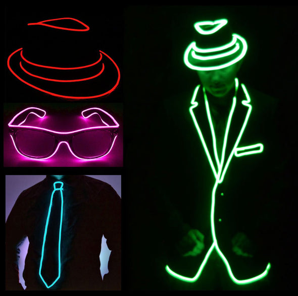 5683964e69a3d Light Up Jackets And Hats - Glow In The Dark Accessories