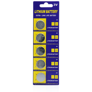 CR2032 replacement cell batteries