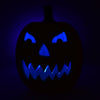 Pumpkin Lights Night View Blue