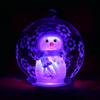 Light up snow globe