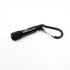 small bright keychain flashlight with clip can be customized with your logo for best promotional giveaway gifts