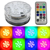 Disc Golf Basket LED Lights remote controlled waterproof LED Pod light that can change colors