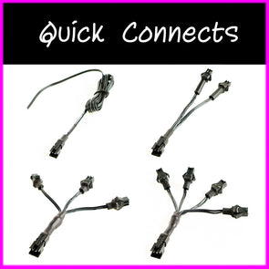 EL wire quick connects