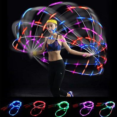 Light Up LED Jump Rope For All Ages