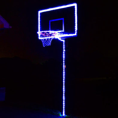 Glow In The Dark Basketball Hoop Lighting Kit Only (Basketball not included)