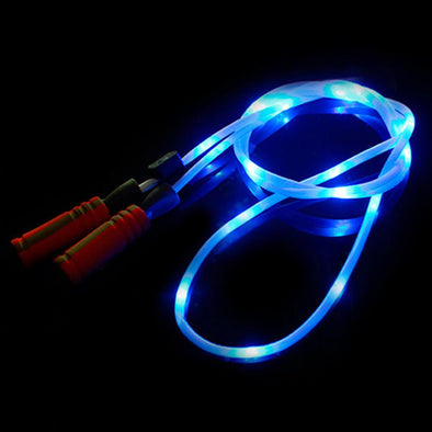 Light Up LED Blue Jump Rope