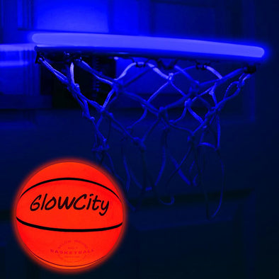 LED Mini Basketball Rim Lighting Kit blue