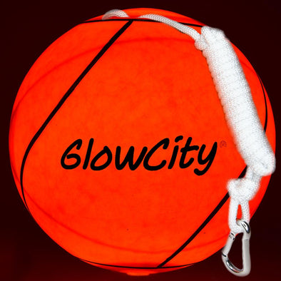 New! GlowCity LED Light Up TetherBall with rope