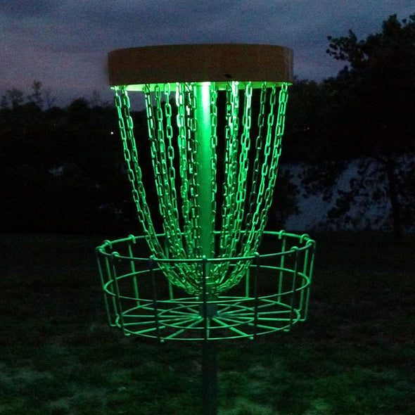 Disc Golf Basket LED Lights