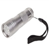 UV flashlight silver